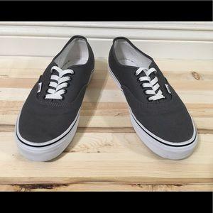 Grey Vans Low Top Size 9 Mens (Great Condition!)